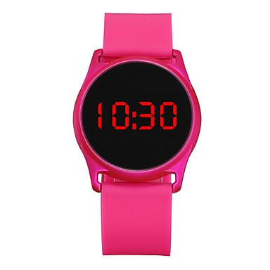 Χαμηλού Κόστους Ανδρικά ρολόγια-Ανδρικά Γυναικεία Αθλητικό Ρολόι Ρολόι Καρπού Ψηφιακό ρολόι Ψηφιακό σιλικόνη Μαύρο / Μπλε / Rose 30 m Χρονογράφος LCD Καθημερινό Ρολόι Ψηφιακό Καθημερινό Μινιμαλιστική -  / Δύο χρόνια / Δύο χρόνια