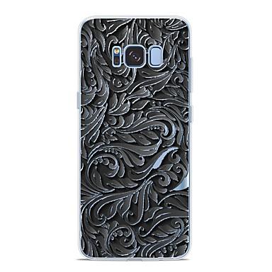 Недорогие Чехлы и кейсы для Galaxy S6 Edge-Кейс для Назначение SSamsung Galaxy S9 / S9 Plus / S8 Plus С узором Кейс на заднюю панель Полосы / волосы Мягкий ТПУ