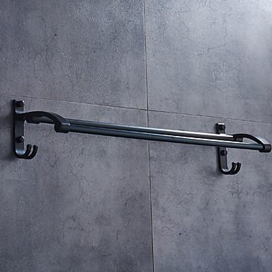 قضيب المنشفة تصميم جديد / كوول معاصر الالومنيوم 1PC مزدوج مثبت على الحائط
