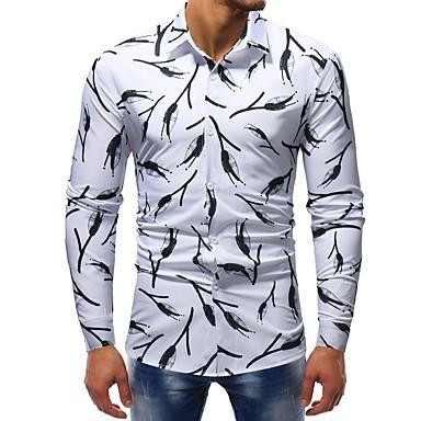 Men's Basic Shirt - Color Block / Graphic Print