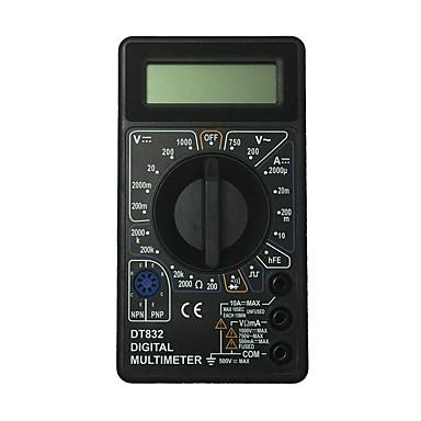 dt832-1000v أسود lcd يده رقمي متعدد باستخدام للمنزل والسيارة