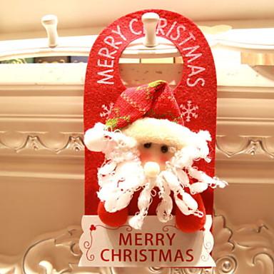 عيد الميلاد الحلي عطلة / كرتون البوليستر Cube حداثة زينة عيد الميلاد