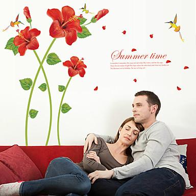 لواصق المرتفعات - لواصق حائط الطائرة الأزهار / النباتية غرفة الجلوس / غرفة النوم / دورة المياه