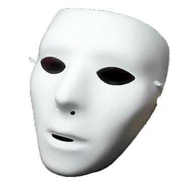 عطلة زينة زينة هالوين ماسك الهالويين ديكور / كوول أبيض 1PC