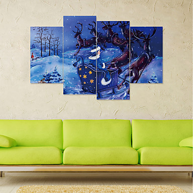 لواصق حائط مزخرفة - لواصق / عطلة ملصقات الحائط كريستمس / الأزهار / النباتية حضانة / غرفة الأطفال