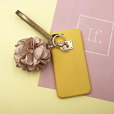 غطاء من أجل Apple iPhone X / iPhone 8 Plus / iPhone 8 اصنع بنفسك غطاء خلفي لون سادة ناعم TPU