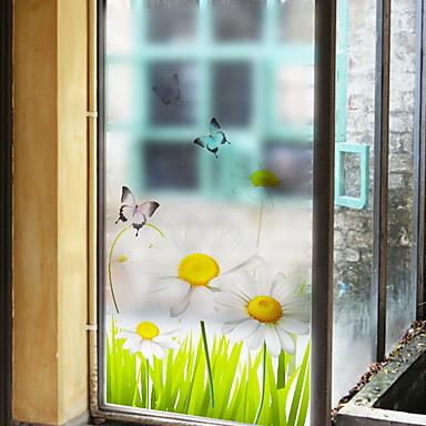 Fereastră de film și autocolante Decor Comun Caracter PVC Autocolant Geam / Transparent