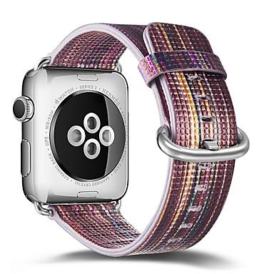 levne Pánské-Pravá kůže Watch kapela Popruh pro Apple Watch Series 4/3/2/1 Modrá 23cm / 9 palce 2.1cm / 0.83 palce