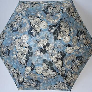 ستانلس ستيل نسائي مشمس وممطر مظلة ملطية