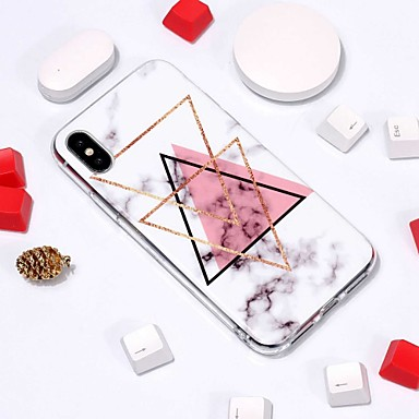 Case For Apple iPhone XR / iPhone XS Max Pattern Back Cover Marble Soft TPU for iPhone XS / iPhone XR / iPhone XS Max