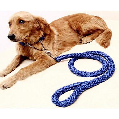 كلاب ياقة المقاود المحمول قابل للسحبقابل للتعديل قابلة للطى لون سادة نايلون أرجواني أخضر أزرق