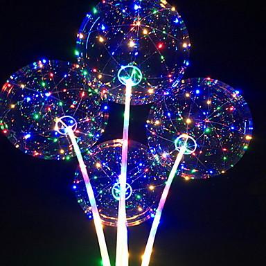 بواليين حول ضوء LED عيد ميلاد حزب زينة 1PC