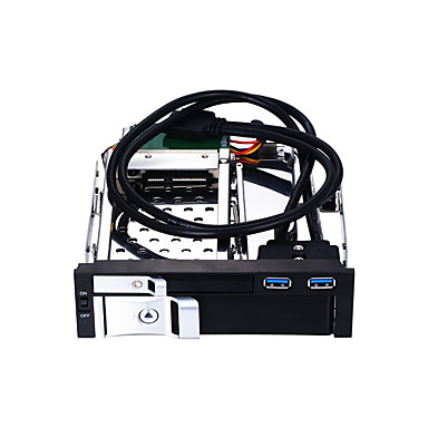 Unestech USB 3.0 إلى ساتا 3.0 القرص الصلب حملة محول صينية HDD متوافق / ذاكرة نسخ احتياطي / والتوصيل والتشغيل / متعددة الوظائف 8000 GB ST7226U