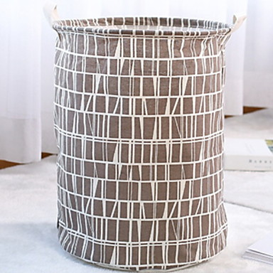 قماش دائري تصميم جديد / كوول الصفحة الرئيسية منظمة, 1PC حقيبة الغسيل و السلة
