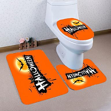 3 قطعات كرتون مماسح الحمام PVC بدعة / حيوان غير منتظم كوول