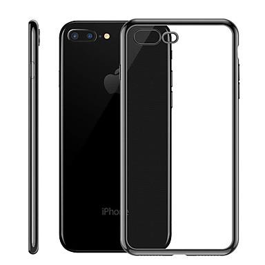 voordelige iPhone 5 hoesjes-hoesje Voor Apple iPhone XS / iPhone XR / iPhone XS Max Beplating / Ultradun / Doorzichtig Achterkant Effen Zacht TPU