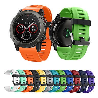 voordelige Smartwatch-accessoires-Horlogeband voor Fenix 5x / Fenix 5x Plus / Fenix 3 Garmin Sportband Silicone Polsband