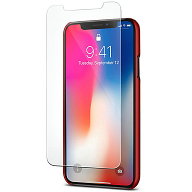 voordelige iPhone X screenprotectors-asling screen protector voor apple iphone xs gehard glas 1 pc front screen protector 9h hardheid / 2.5d gebogen rand / explosiebestendig