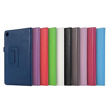 ieftine Carcase / Huse de Huawei-Maska Pentru Huawei MediaPad T3 8.0 / MediaPad M5 8 Anti Șoc / Cu Stand / Ultra subțire Carcasă Telefon Mată Greu PU piele pentru Huawei MediaPad T3 8.0 / Huawei MediaPad T3 7.0 / MediaPad M5 8