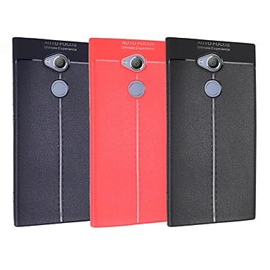 voordelige Hoesjes / covers voor Sony-hoesje Voor Sony Xperia XZ2 Compact / Xperia XZ2 / Xperia XZ1 Compact Ultradun Achterkant Effen Zacht TPU