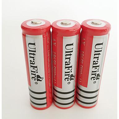 18650 pil Şarj Edilebilir Li-Ion Pil 4200.0 mAh 4adet Şarj Edilebilir için Kamp/Yürüyüş/Mağaracılık