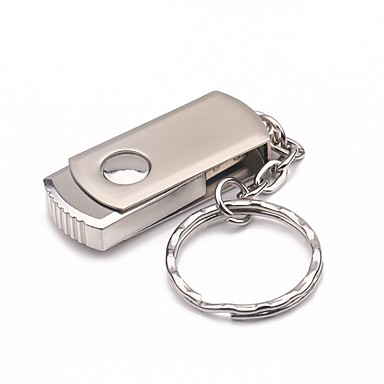 32GB roti de metal materiale mini usb flash drive pen
