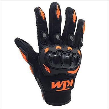 זול אופנועים וטרקטרונים-ktm אופנוע כפפות גברים רכיבה אצבע מלאה לנשף כפפות עבור motorcross מירוץ טרקטורונים אופני העפר הגנה בחוץ
