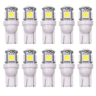 billige Bil Indvendige Lys-SO.K 10pcs T10 Bil Elpærer 5 W 160 lm LED Indvendige Lights