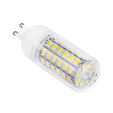 ywxlight® 1pc 10w 1500lm g9 led maissi valot t 56led helmet smd 5730 lämmin valkoinen / kylmä valkoinen 220-240v