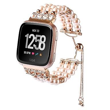 זול שעוני גברים-סגסוגת צפו בנד רצועה ל Apple Watch Series 4/3/2/1 שחור / לבן / ורוד 23cm / 9 אינץ ' 2.1cm / 0.83 אינצ'ים
