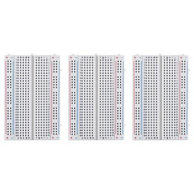 3-delig 400 tie-points breadboard voor raspberry pi en arduino