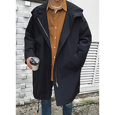 dac6d8d81b1c Men s Daily Long Trench Coat