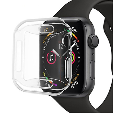 voordelige Smartwatch-accessoires-hoesje Voor Apple Apple Watch Series 4 Siliconen Apple
