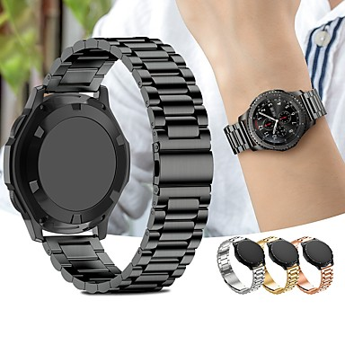 bced1f75a Pulseiras de Relógio para Gear Sport Samsung Galaxy Pulseira Esportiva Aço  Inoxidável Tira de Pulso