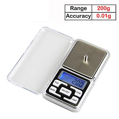 3af60997c 200gx0.01g elektronisk balance køkken digital køkken skala ...