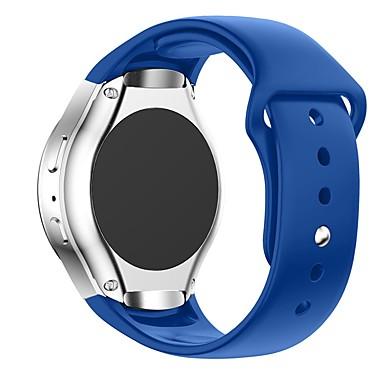 voordelige Horlogebandjes voor Samsung-Horlogeband voor Gear S R750 Samsung Galaxy Sportband / Klassieke gesp Silicone Polsband