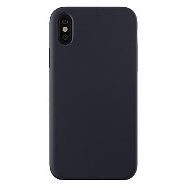 voordelige iPhone 5 hoesjes-hoesje Voor Apple iPhone XS / iPhone XR / iPhone XS Max Schokbestendig / Ultradun / Mat Achterkant Effen Hard PC