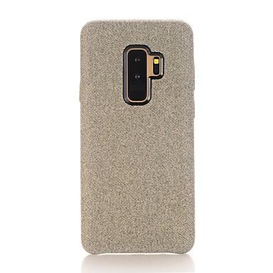 voordelige Galaxy S-serie hoesjes / covers-hoesje Voor Samsung Galaxy S9 / S8 Schokbestendig / Stofbestendig / Waterbestendig Achterkant Effen Zacht tekstiili