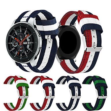 voordelige Horlogebandjes voor Samsung-Horlogeband voor Gear S3 Frontier / Gear S3 Classic / Gear 2 R380 Samsung Galaxy Sportband Nylon Polsband