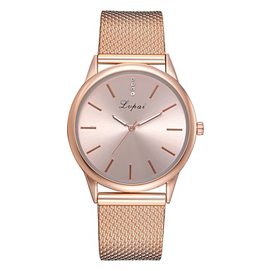 Women's Wrist Watch Quartz Silicone Black / Silver / Gold New Design Casual Watch Imitation Diamond Analog Casual Fashion - Silver Rose Gold Black / Rose Gold One Year Battery Life