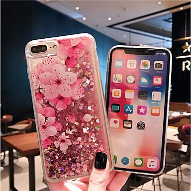 Кейс для Назначение Apple iPhone XS / iPhone XR / iPhone XS Max С узором Кейс на заднюю панель Цветы Мягкий ТПУ