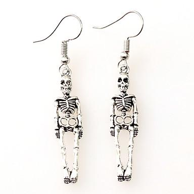 5298f96f7 Hot Fashion Skeleton Skull Stud Earrings Biker Jewelry Antique Vintage Punk  Earrings Gift