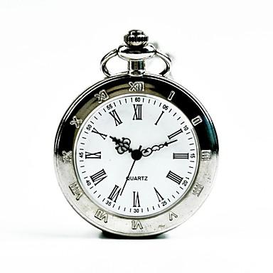 Χαμηλού Κόστους Ανδρικά ρολόγια-Ανδρικά Ρολόι Τσέπης Χαλαζίας Ασημί Καθημερινό Ρολόι Απίθανο Αναλογικό Καθημερινό Μοντέρνα - Ασημί