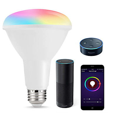 Bulbs Dimmable Wifi Multicolored Recessed Smart Led Br30 Lights UjLqzGSMVp