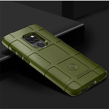 voordelige Huawei Mate hoesjes / covers-hoesje Voor Huawei Mate 10 / Mate 10 pro / Huawei Mate 20 lite Schokbestendig Achterkant Effen Zacht Siliconen