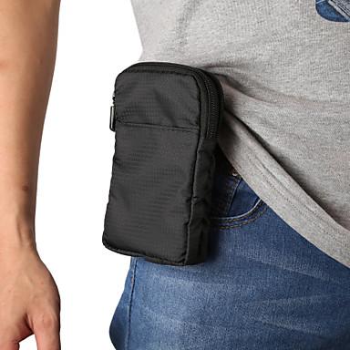 voordelige Universele hoesjes & tasjes-6 / 6.9 inch hoesje voor universele kaarthouder heuptas / heuptas stevig gekleurde nylon tas unisex