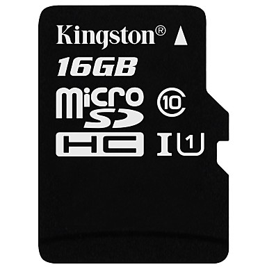 Kingston 16GB Micro SD kort TF Card hukommelseskort Class10