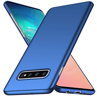Case For Samsung Galaxy Galaxy S10 / Galaxy S10 Plus Frosted Back Cover Solid Colored Soft PC for S9 / S9 Plus / S8 Plus