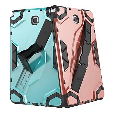 voordelige Samsung Tab-serie hoesjes / covers-hoesje Voor Samsung Galaxy Tab A 8.0 Schokbestendig / met standaard Achterkant Tegel / Schild Hard PC