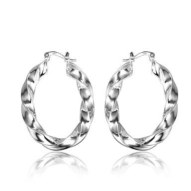 d828c5c133c44 Women's Hoop Earrings Earrings Shrimp Earrings Twisted Machete Wave ...